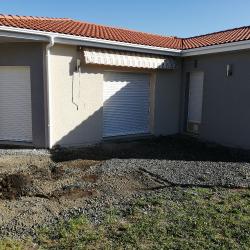 Terrasse grès ceram